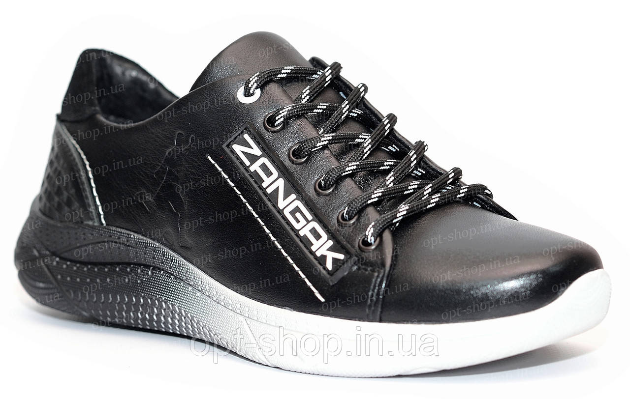 Кроссовки детские кожаные на мальчика, детские кроссовки для мальчика от производителя (код:Z-431ч/белый)