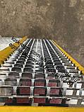 НОВИНКА!!! Комплект решіт дон-1500Б (ЄВРО, ПВР) нижній + верхній + подовжувач ОЦИНКОВКА, фото 3