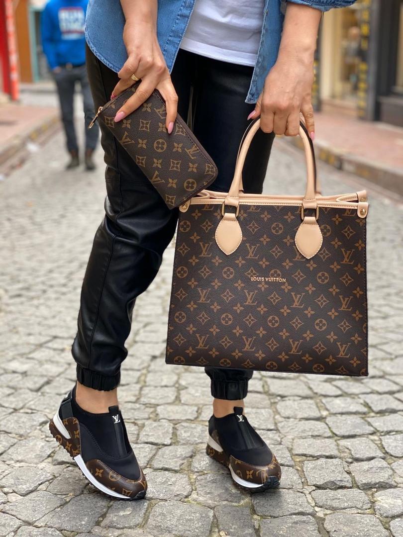 Набор: сумка, обувь, кошелек LV