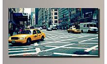"""Картина на холсте""""New York city"""" для интерьера"""