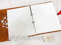 """Фотоальбом """"The Story of Us"""" с золотыми элементами (2) (листы 31х25 см), фото 6"""