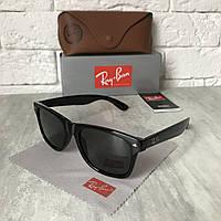Солнцезащитные очки RAY BAN 2140 Wayfarer черный стекло