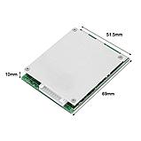 Плата защиты BMS 10S 35A 36V для Li-Ion 18650 3.2-3.7V (Контроллер заряда/разряда) кобальт-оксид, фото 3