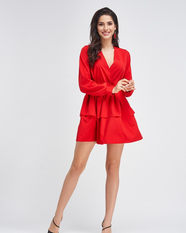 Платья  11308  S красный M