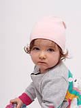 Шапка для девочки, арт. Виченца, возраст от 1 до 1,5 лет ТМ Дембохаус, фото 3