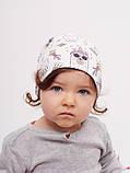 Шапка для девочки, арт. Виченца, возраст от 1 до 1,5 лет ТМ Дембохаус, фото 2