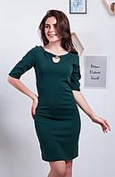 Модное платье с брошью р. 42,44,46,48 Бутылка, фото 1