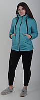 Куртка женская весенняя Aziks м-183 мятный 50