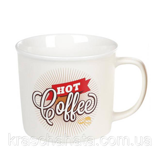 Чашка  фарфоровая, Hot Coffee,50 мл
