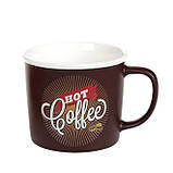 Чашка  фарфоровая, Hot Coffee,50 мл, фото 3