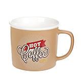 Чашка  фарфоровая, Hot Coffee,50 мл, фото 2