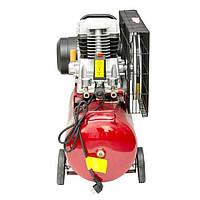 Компрессор 50 л, 1.8 кВт, 220 В, 8 атм, 233 л/мин. INTERTOOL PT-0011