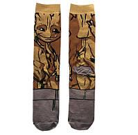 Высокие мужские носки Стражи Галактики - Друт, фото 2