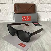 Солнцезащитные очки RAY BAN 2140M Wayfarer черный дерево стекло