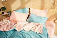 Комплект сатинового постельного белья Leglo Apricot Евро