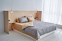 Комплект сатинового постельного белья Leglo Grago Евро