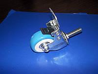 Ролик с фиксатором на подшипнике резьба М10, фото 1