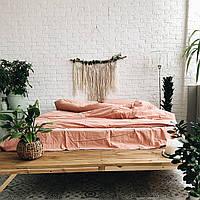 Комплект постельного белья из вареного хлопка Leglo Flamingo Евро
