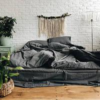 Комплект постельного белья из вареного хлопка Leglo Slate Семейный