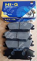 Колодки тормозные передние Гетс  Акцент  Пони 99-05гв