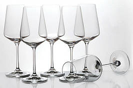 Набор бокалов для вина (разный объем) BOHEMIA Sandra 250