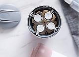 Дорожный диспенсер 4в1 для жидкого мыла, шампуня, лосьена, фото 4