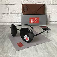 Солнцезащитные очки RAY BAN P663 ROUND Polarized черный