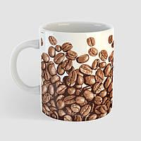 Кружка с принтом Кофе. Coffee art 5. Чашка с фото, фото 1