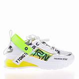 Стильные яркие кроссовки Lonza 90166 YELLOW ВЕСНА 2020, фото 3