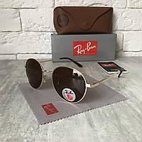 Солнцезащитные очки RAY BAN P663 ROUND Polarized коричневый