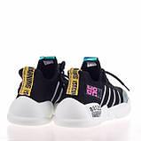 Стильные яркие кроссовки Lonza 19106 BLACK ВЕСНА 2020, фото 3