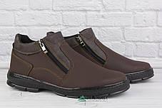 40р Зимові класичні черевики на хутрі -12 °C, фото 3