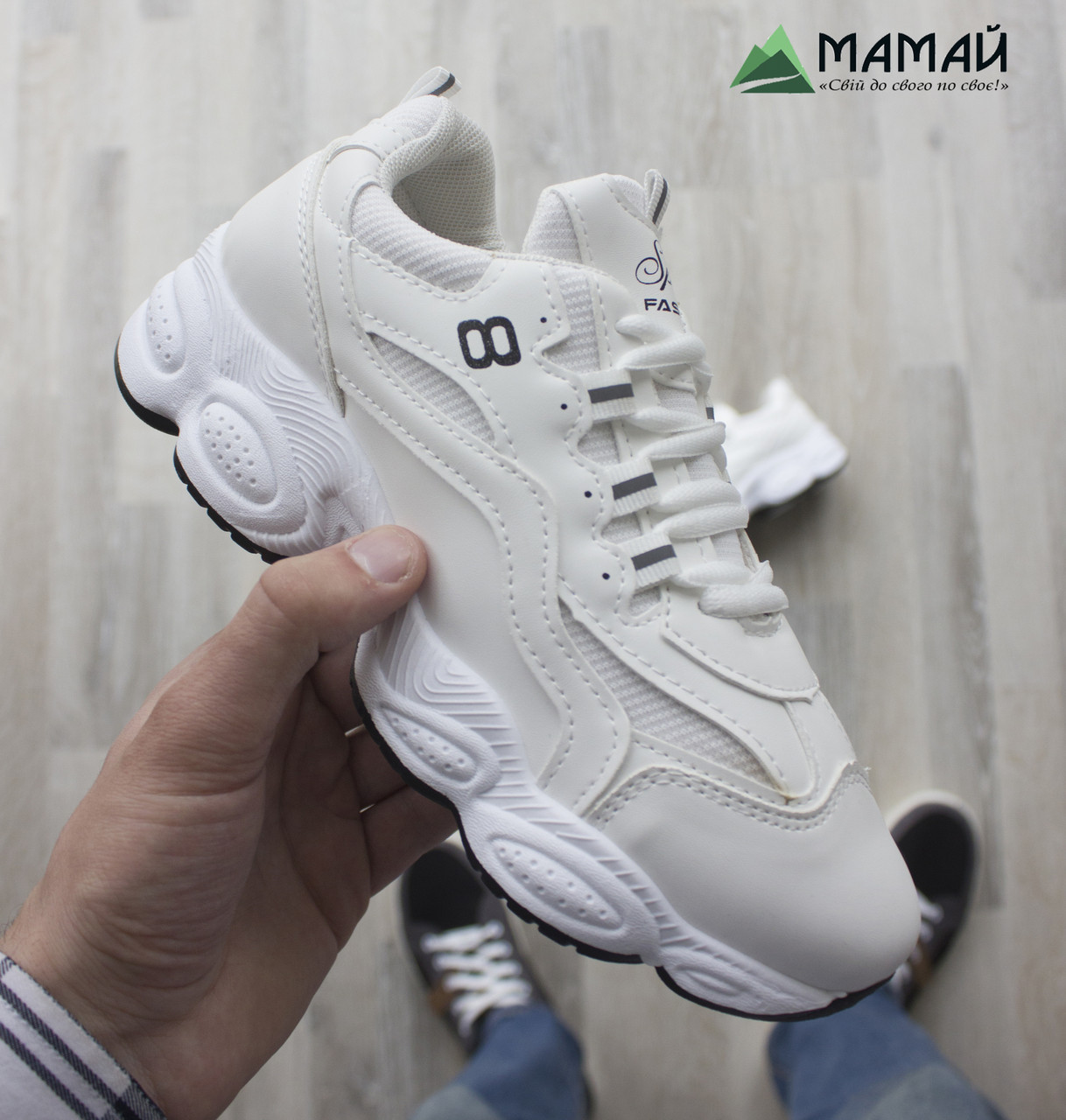 38р Кросівки жіночі білі