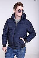Куртки мужские осенние от производителя    48-58 темно-синий