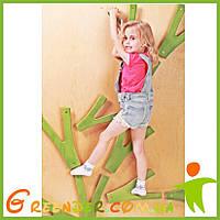 Детский скалодром «Невероятные веточки на каркасе»