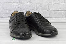 42р Шкіряні чоловічі туфлі, фото 3