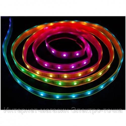 Светодиодная лента VOLGA-RGB влагозащищенная IP65 50*50 60led/m (10W/m) 220-240V