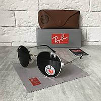 Солнцезащитные очки RAY BAN P663 ROUND Polarized черный метал