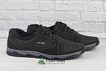 Чоловічі кросівки чорні 40р, фото 3