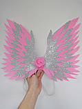 Крила єдинорога і обруч Єдиноріг Прикраса для волосся рожевий, фото 7