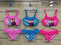 Купальники для девочек оптом, Disney, 98-134 см,  № 92088