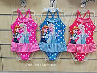 Купальники для девочек оптом, Disney, 98-134 см,  № 92081