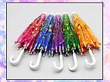 Зонт раскладной оранжевый (аксессуары для кукол), фото 6