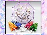 Зонт раскладной оранжевый (аксессуары для кукол), фото 7