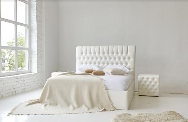 Кровать двуспальная Честер MW1600 (Embawood) (3)