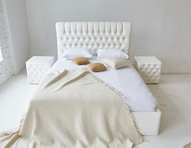 Кровать двуспальная Честер MW1600 (Embawood) (5)