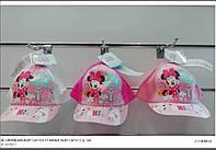 Кепки для девочек оптом, DISNEY, 48-50 рр.,  № MIN-BABY CAP-026