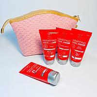 Набір з косметичкою засоби для догляду за шкірою рук Elit-Lab 50 мл. Вишня