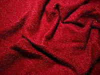 Трикотаж ангора люрекс (красный)