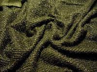Трикотаж ангора люрекс (хаки)